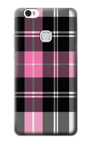 Printed Pink Plaid Pattern Huawei Ascend G630 Case