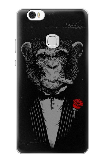 Printed Funny Monkey God Father Huawei Ascend G630 Case
