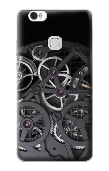 Printed Inside Watch Black Huawei Ascend G630 Case