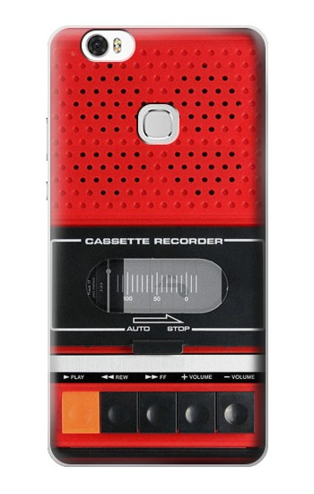 Printed Red Cassette Recorder Graphic Huawei Ascend G630 Case