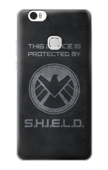 Printed This Device is Protected by Shield Huawei Ascend G630 Case