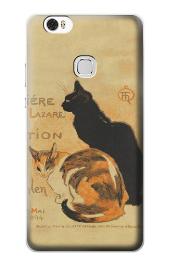 Printed Vintage Cat Poster Huawei Ascend G630 Case