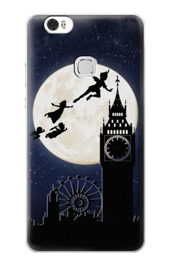 Printed Peter Pan Fly Fullmoon Night Huawei Ascend G630 Case