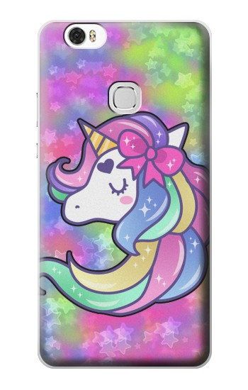 Printed Pastel Unicorn Huawei Ascend G630 Case