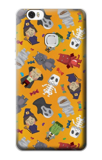 Printed Cute Halloween Cartoon Pattern Huawei Ascend G630 Case
