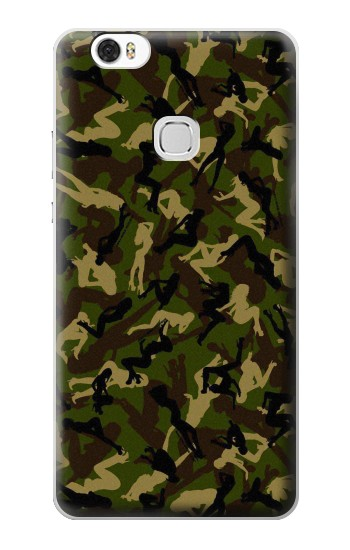Printed Sexy Girls Camo Huawei Ascend G630 Case