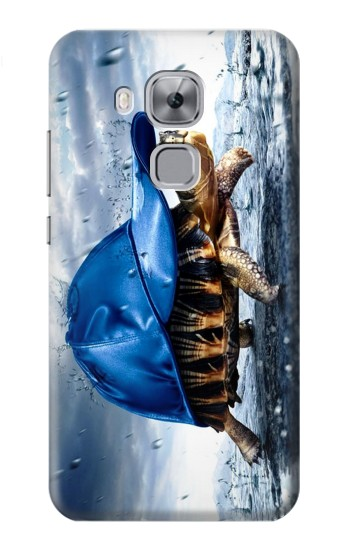 Printed Turtle in the Rain Huawei Maimang 5, nova plus Case