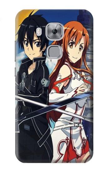 Printed Sword Art Online Huawei Maimang 5, nova plus Case