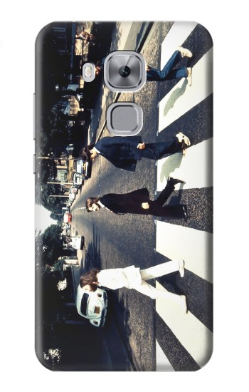 Printed The Beatles Abbey Road Huawei Maimang 5, nova plus Case