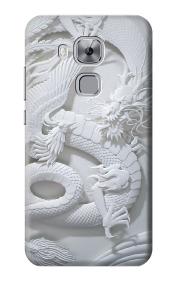 Printed Dragon Carving Huawei Maimang 5, nova plus Case
