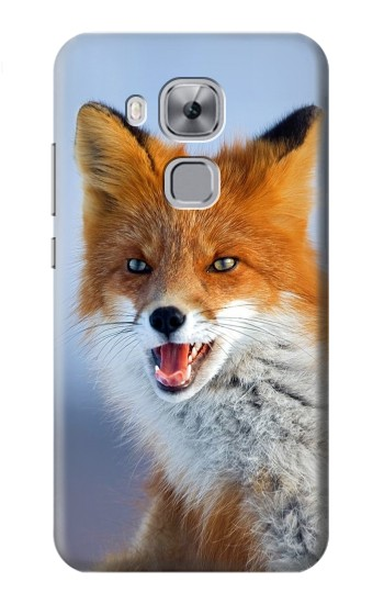 Printed Fox Huawei Maimang 5, nova plus Case