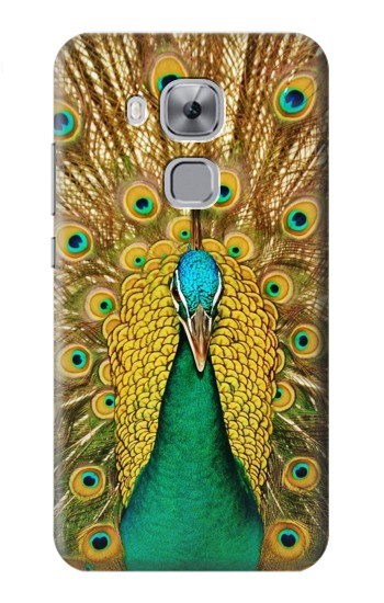 Printed Peacock Huawei Maimang 5, nova plus Case