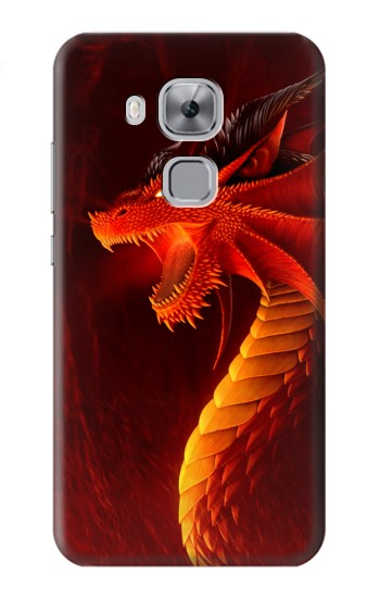 Printed Red Dragon Huawei Maimang 5, nova plus Case