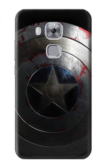 Printed Captain Shield Huawei Maimang 5, nova plus Case