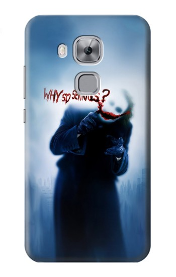 Printed Batman Joker Why So Serious Huawei Maimang 5, nova plus Case