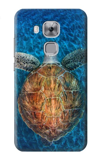 Printed Blue Sea Turtle Huawei Maimang 5, nova plus Case