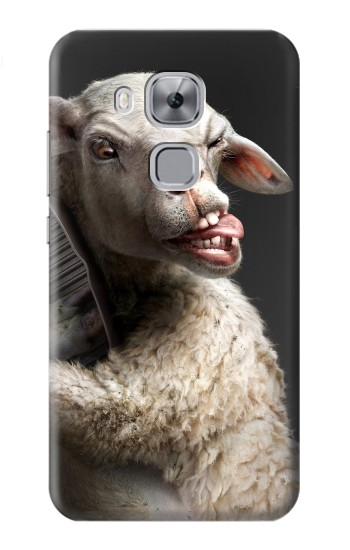 Printed Crazy Lamb Huawei Maimang 5, nova plus Case