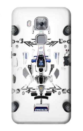 Printed Formula One F1 Auto Part Huawei Maimang 5, nova plus Case