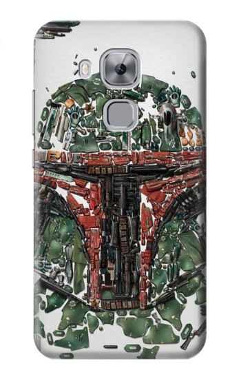 Printed Star War Soldier Huawei Maimang 5, nova plus Case