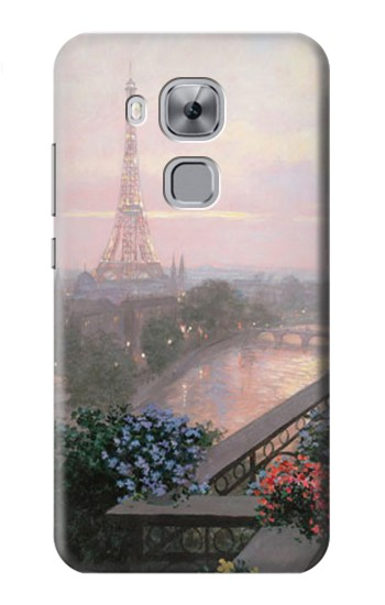 Printed Terrace in Paris Eifel Huawei Maimang 5, nova plus Case