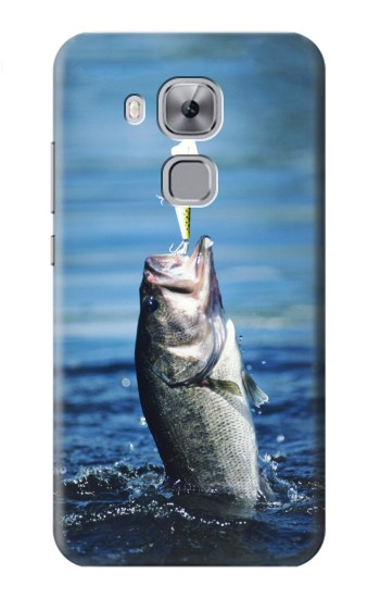 Printed Bass Fishing Huawei Maimang 5, nova plus Case