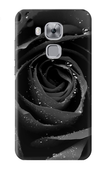 Printed Black Rose Huawei Maimang 5, nova plus Case