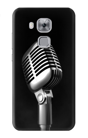 Printed Retro Microphone Jazz Music Huawei Maimang 5, nova plus Case