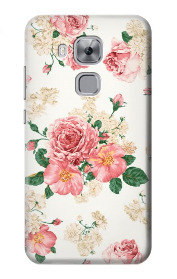 Printed Rose Pattern Huawei Maimang 5, nova plus Case
