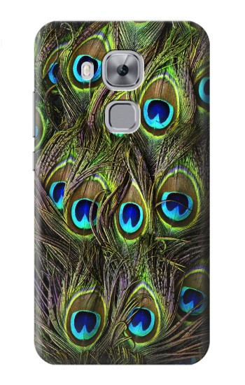 Printed Peacock Feather Huawei Maimang 5, nova plus Case