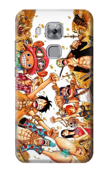 Printed One Piece Straw Hat Luffy Pirate Crew Huawei Maimang 5, nova plus Case