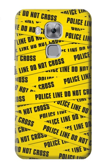 Printed Police Line Do Not Cross Huawei Maimang 5, nova plus Case