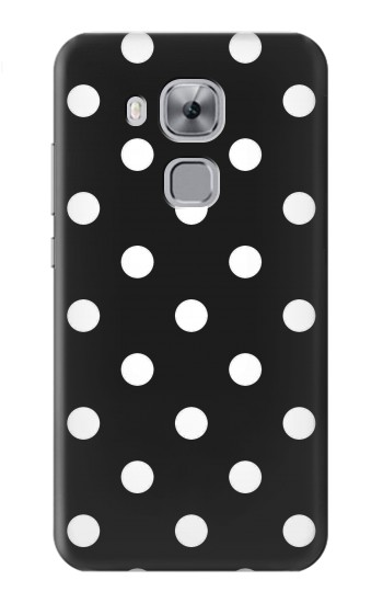 Printed Black Polka Dots Huawei Maimang 5, nova plus Case