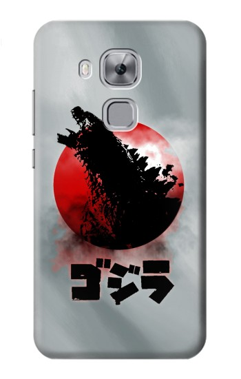 Printed Godzilla Japan Flag Huawei Maimang 5, nova plus Case