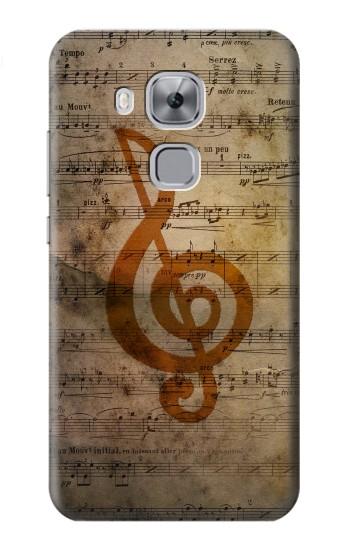 Printed Sheet Music Notes Huawei Maimang 5, nova plus Case
