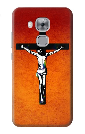 Printed Jesus Christ On The Cross Huawei Maimang 5, nova plus Case