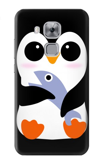 Printed Cute Baby Penguin Huawei Maimang 5, nova plus Case