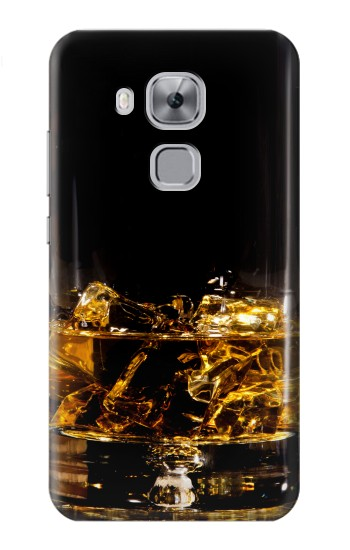 Printed Ice Whiskey Glass Huawei Maimang 5, nova plus Case