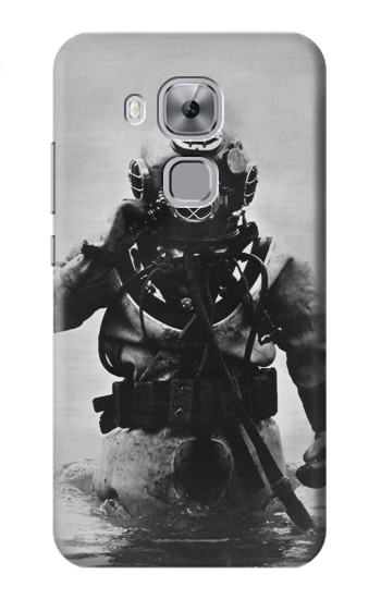 Printed Old Diving Suit Huawei Maimang 5, nova plus Case
