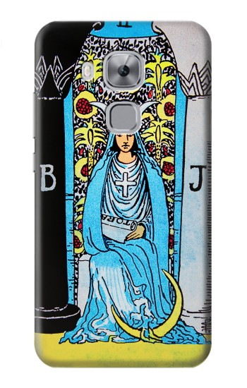 Printed The High Priestess Vintage Tarot Card Huawei Maimang 5, nova plus Case