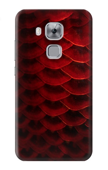 Printed Red Arowana Fish Scale Huawei Maimang 5, nova plus Case