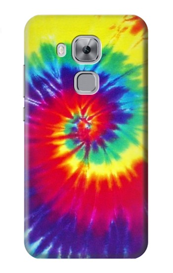 Printed Tie Dye Fabric Color Huawei Maimang 5, nova plus Case