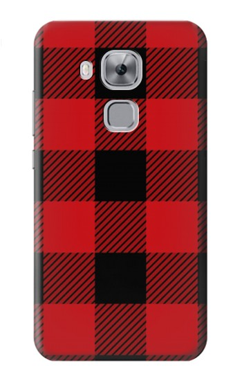 Printed Red Buffalo Check Pattern Huawei Maimang 5, nova plus Case