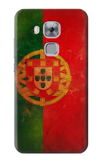 Printed Vintage Portugal Flag Huawei Maimang 5, nova plus Case