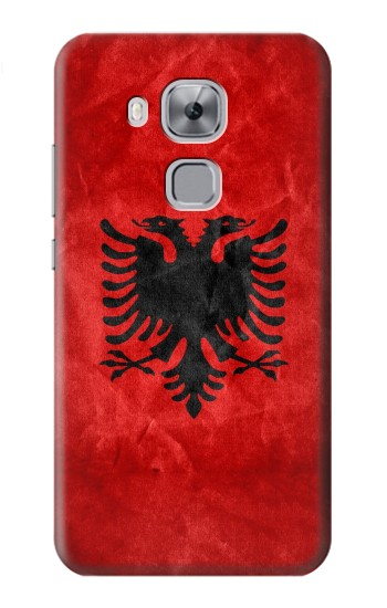 Printed Albania Red Flag Huawei Maimang 5, nova plus Case