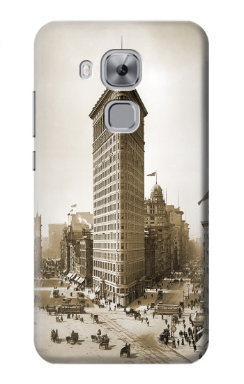 Printed Old New York Flatiron Building Huawei Maimang 5, nova plus Case