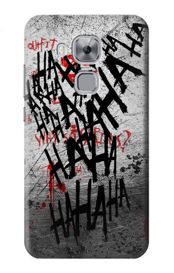 Printed Joker Hahaha Blood Splash Huawei Maimang 5, nova plus Case