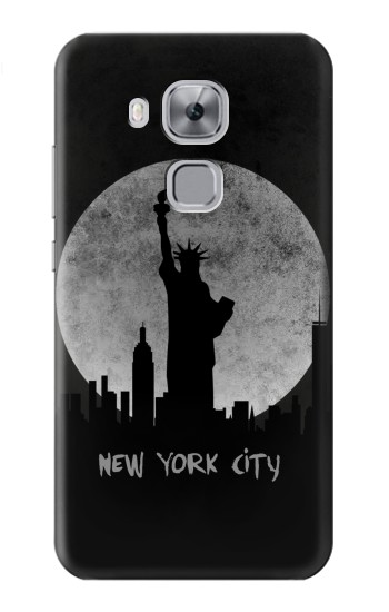 Printed New York City Huawei Maimang 5, nova plus Case