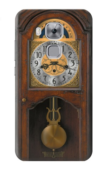 Printed Grandfather Clock Antique Wall Clock Huawei Maimang 5, nova plus Case