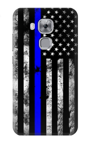 Printed Thin Blue Line USA Huawei Maimang 5, nova plus Case