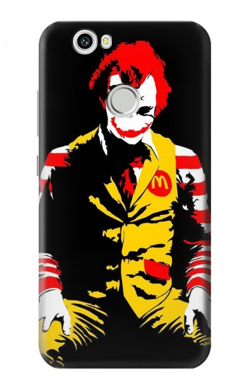 Printed Mc Donalds Joker Huawei nova Case